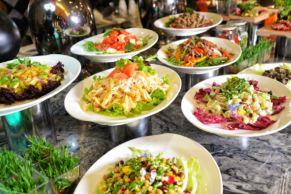 上海静安铂尔曼酒店沙拉/点心自助餐一份