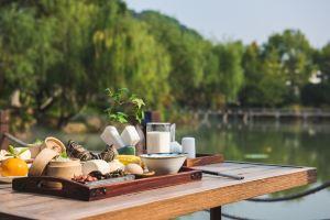 杭州水墨蓉庄艺术主题酒店超值人气早餐