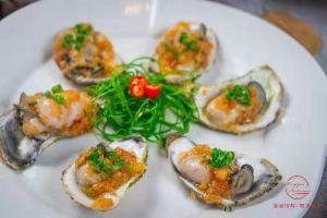 惠州海尚湾畔海航度假酒店(明月餐厅蒜蓉蒸生蚝1个)