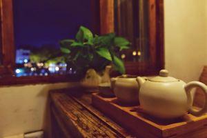 上海朱家角大宅院客栈放生桥河景单人下午茶