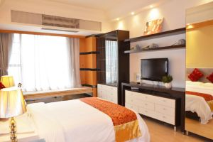 私享家连锁酒店公寓(广州珠江新城汇峰店)(豪华大床房-3小时)