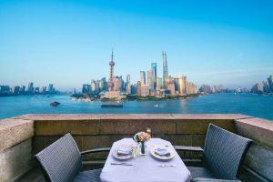 上海和平饭店华懋阁周末三道式早午餐