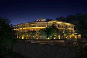 天目湖御湖半岛温泉酒店(5-6人砂锅鱼头套餐)