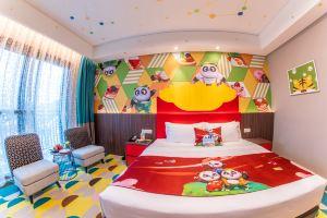 广州长隆熊猫酒店(【11月-12月送餐】帅帅房+3动物园2日+3马戏 )