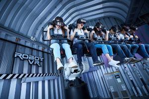 澳门新濠影汇传奇英雄科技城VR游戏
