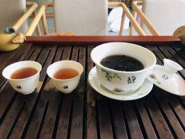 丽江竹语花园别院普洱茶一泡
