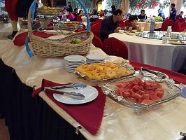北京静之湖度假酒店自助餐