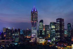 上海明天广场JW万豪酒店40楼加州扒房双人餐副本