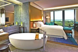 三亚海棠湾民生威斯汀度假酒店(【提前7天】豪华海景房+欢乐大礼包+旅拍)