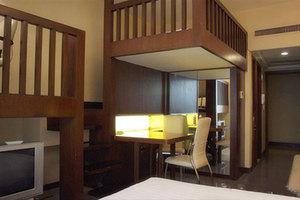 上海家荣酒店公寓(复式家庭房)