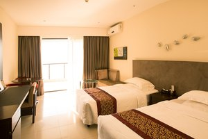 惠东巽寮湾新海宜海尚湾畔度假酒店公寓(平日高级湾景双床房)