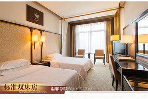 兴安乐满地度假酒店(【含早】标准双床房+双人乐满地门票)