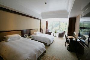 黄山丰大国际大酒店(迎宾楼豪华景观双床房+杨家寨