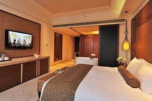 三亚海棠湾万达希尔顿逸林度假酒店-池畔房+BBQ
