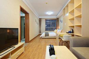 济南斯维登服务公寓(龙奥天街)(商务大床房)