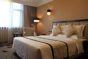 【预约!单早】长沙小天鹅戴斯酒店(高级大床房)