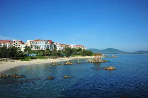 三亚蜈支洲岛珊瑚酒店(【含早】珊瑚豪华园景套房)