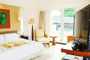 三亚亚龙湾凯莱仙人掌度假酒店(高级山景房+鱼疗)