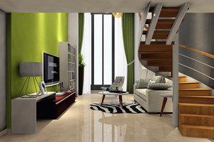 广州戴维斯商务公寓(复式豪华大床房)