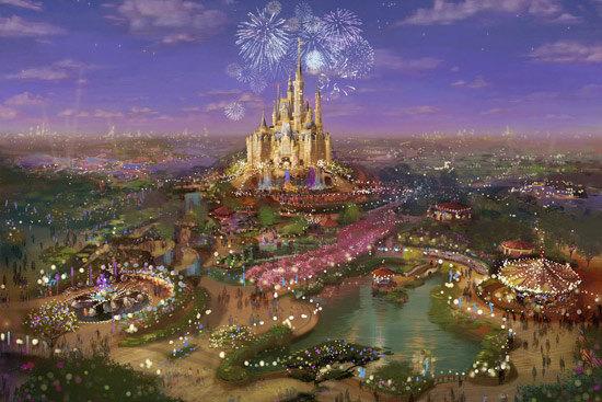 上海迪士尼乐园,先睹为快!