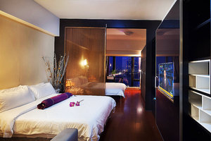 维福顿公寓(琶洲会展中心店)豪华城景双床房