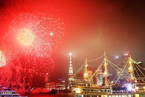 上海门票套餐(黄浦江游船+海底世界白鲸表演+AR)