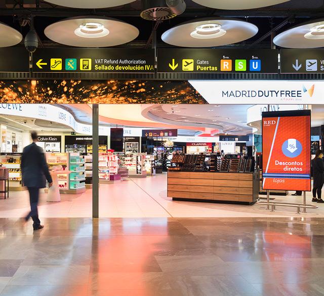 马德里免税 (马德里巴拉哈斯机场 T4 Satellite区)