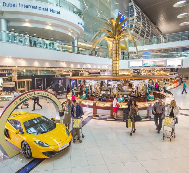 迪拜国际机场T3航站楼C出发区(综合购物区店)