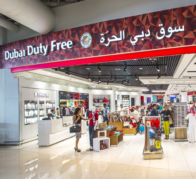 迪拜国际机场T3航站楼B出发厅(促销店C东区)