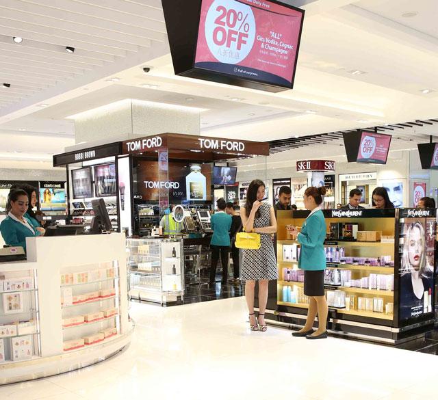 迪拜国际机场T1航站楼D出发区(香水化妆品区店)