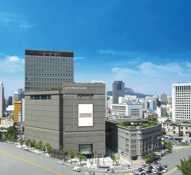 韩际新世界免税店(明洞店)