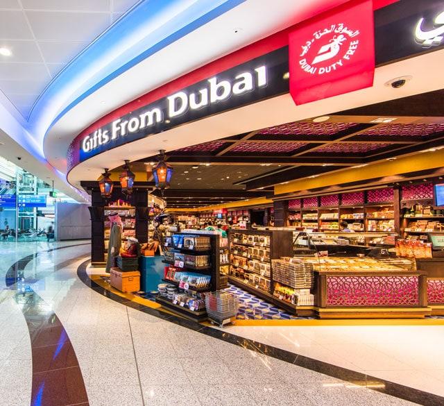 迪拜国际机场T1航站楼D出发区(礼品区店)