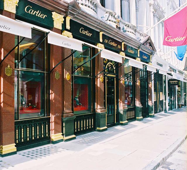 卡地亚(英国新邦德街店)