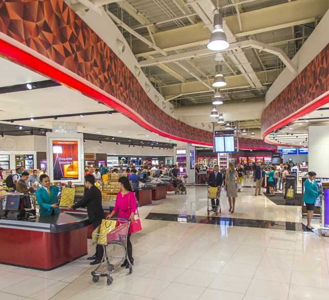 迪拜国际机场T2航站楼(综合购物区店)