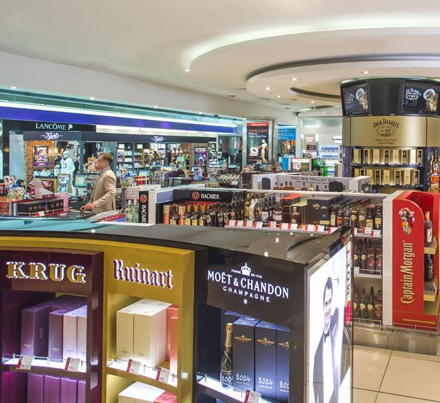 迪拜国际机场T3航站楼B出发区(酒区店)