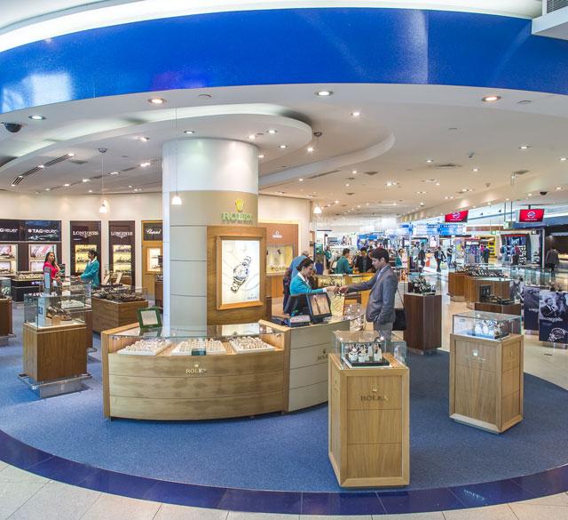 迪拜国际机场T3航站楼B出发区(手表区店)