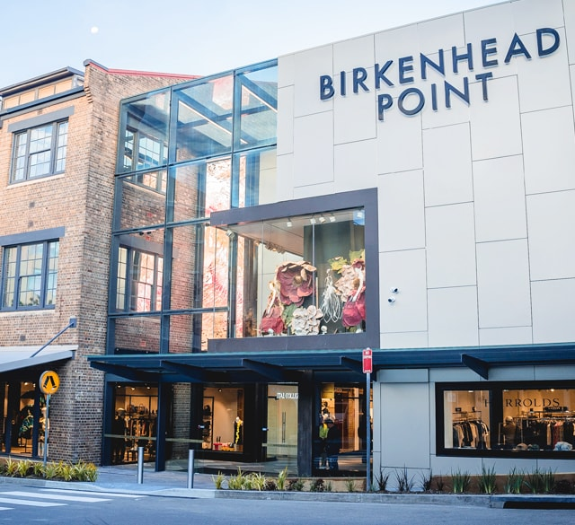 Birkenhead Point 奥特莱斯